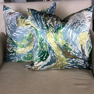 West Elm cushion covers